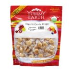 Yummy Earth -   None Organic Candy Drops Gluten Free Hopscotch Butterscotch 0810165012356 UPC 81016501235