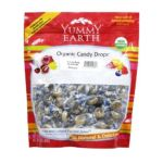 Yummy Earth -  Organic Candy Drops Lucky Lime Pouches 0810165012387
