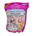 Yummy Earth -   None Organic Lollipops Vitamin C Pops 0810165013193 UPC 81016501319