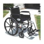 Drive medical -  K316dda-elr Cruiser Iii Light Weight Wheelchair With Various Flip Back Arm Styles And Front Rigging Options Steel black 16 in 0822383123349