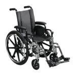 Drive medical -  Viper Wheelchair With Flip Back Full Arms And Elevating Legrest L418dfa-elr 18 in 0822383188034