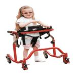 Drive medical -  Luminator Gait Trainer With Posterior Or Anterior Option Pediatric Red 1 ea 0822383188379