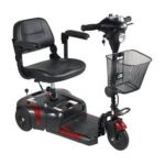 Drive medical -  Phoenix 3 Wheel 4 Wheel Compact Portable Travel Power Scooter In Red Blue Peace Of Mind Service Yes 0822383241661