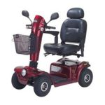 Drive medical -  Gladiator Gt Heavy Duty Mobility Scooter Red Seat Pom Warranty Gt807gt808-pom 22 in 0822383241715