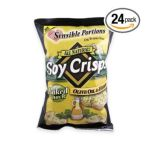 Wise -  All Natural Soy Crisps Olive Oil & Herb Bags 0829515300449