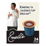 Emeril's -  Emeril's Jazzed Up Decaffeinated Coffee K-cups 0842115011379