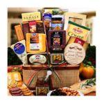 Alder creek gifts - Premium Artisanal Meat's & Cheese Basket 0843401058054  / UPC 843401058054