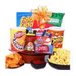 Alder creek gifts - Alder Creek Gifts Football Game On! Gift Basket 0843401059112  / UPC 843401059112