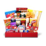 Alder creek gifts -  Deluxe Party Snack Pack Gift Basket 0843401059129