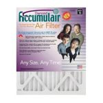 Accumulair - 8x30x1 Actual Size Diamond Filter Merv 13 1 in 0844359078392  / UPC 844359078392
