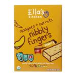Ellas Kitchen -  Nibbly Fingers Mangoes + Carrots Organic 12+ Months 0845901001042