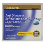 Good Sense -  Anti-diarrheal Soft Gelatin Capsules 12 Gelatin Capsules 12 softgels 0846036000849