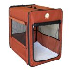 Go Pet Club -  Gopetclub Soft-sided Dog Crate With Mat In Ab X Size 26 in 0852134002593