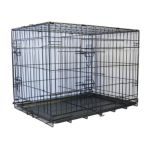 Go Pet Club -  48-in Divider And 2-door Folding Dog Crate 0852134002869