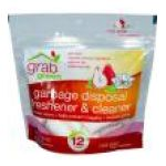GrabGreen -  Garbage Disposal Freshener & Cleaner Red Pear With Magnolia 12 Pods 12 pods 0854822003035