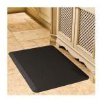 Wellnessmats -  Motif-trellis X Premium Anti-fatigue Mat Color Black 3 ft 0855359002287
