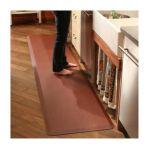Wellnessmats -  Puzzlepiece Runner Series 102 Anti-fatigue Mat Set Color Burgundy 0855359002539