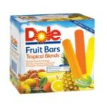 Dole - Tropical Blends Fruit Bars 12 0856732002030  / UPC 856732002030