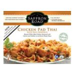 Saffron Road -  Gourmet Frozen Entrees -   Gourmet Frozen Entrees Chicken Pad Thai 0857063002065 UPC 85706300206