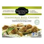 Saffron Road -  Gourmet Frozen Entrees -  Lemongrass Basil Chicken 0857063002072