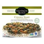 Saffron Road -  Gourmet Frozen Entrees -  Chana Saag 0857063002157