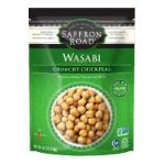 Saffron Road - Crunchy Chickpeas - Wasabi Crunchy Chickpeas 0857063002423  / UPC 857063002423
