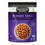 Saffron Road -  Crunchy Chickpeas -   Crunchy Chickpeas Bombay Spice Chickpeas 0857063002430 UPC 85706300243