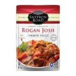 Saffron Road - Simmer Sauces - Rogan Josh 0857063002614  / UPC 857063002614