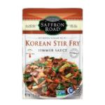 Saffron Road -  Simmer Sauces -  Korean Stir Fry 0857063002645
