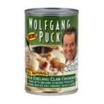 Wolfgang Puck -  62158 Organic Clam England Clam Chowder Soup 0858328762083