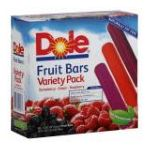 Dole - Variety Pack Strawberry-grape-raspberry Fruit Bars 0860510000033  / UPC 860510000033
