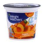 Weight Watchers -  Yogurt Nonfat Peach 0883038020109