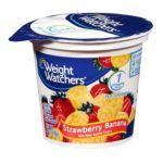Weight Watchers -  Strawberry Banana Nonfat Yogurt 0883038020116
