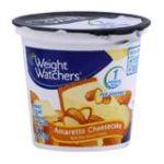 Weight Watchers -  Yogurt Nonfat Amaretto Cheesecake 0883038020123