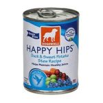 Dogswell -  Happy Hips For Dogs Duck & Sweet Potato Stew Recipe Cans 0884244008226