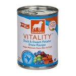 Dogswell -  Vitality For Dogs Duck & Sweet Potato Stew Recipe Cans 0884244008233