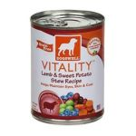 Dogswell -  Vitality For Dogs Lamb & Sweet Potato Stew Recipe Cans 0884244008257