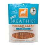 Dogswell -  Breathies Dog Chews Chicken Breast Mint & Parsley 0884244118413