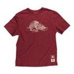 Adidas  - adidas Arkansas Razorbacks Super Soft Vintage Mascot T-Shirt 0885580294557  / UPC 885580294557