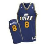 Adidas  -   None adidas Utah Jazz Deron Williams Revolution 30 Swingman Road Jersey 0885580511111 UPC 88558051111