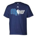 Adidas  - adidas Dallas Mavericks NBA Logo Wordmark T-Shirt 0885580654504  / UPC 885580654504