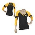 Adidas  - Reebok Boston Bruins Womens 3/4 Sleeve Rib Henley 0885580658687  / UPC 885580658687