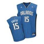 Adidas  - adidas Orlando Magic Vince Carter New Revolution 30 Replica Road Jersey 0885580664176  / UPC 885580664176