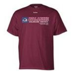 Adidas  - Reebok Colorado Avalanche Center Ice Call Sign T-Shirt 0885580758288  / UPC 885580758288