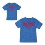 Adidas  - adidas Detroit Pistons Intramural Tri-Blend T-Shirt 0885580945664  / UPC 885580945664