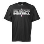 Adidas  - adidas San Antonio Spurs Heathered ClimaLite T-Shirt 0885580949266  / UPC 885580949266