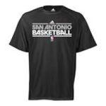 Adidas  - adidas San Antonio Spurs Heathered ClimaLite T-Shirt 0885580949297  / UPC 885580949297