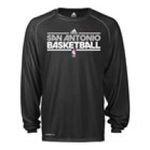 Adidas  - adidas San Antonio Spurs Heathered ClimaLite Long Sleeve T-Shirt 0885587012147  / UPC 885587012147