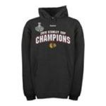 Adidas  - Reebok Chicago Blackhawks 2010 Stanley Cup Champions Hooded Sweatshirt 0885587507872  / UPC 885587507872