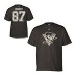 Adidas  -  Reebok Pittsburgh Penguins Sidney Crosby Digital Camo Name and Number T-shirt 0885587614297
